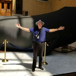 Here's Why There Was A Huge Inflatable Whale At The State House