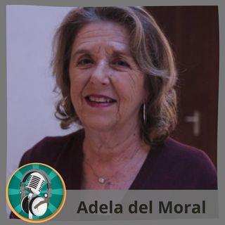 Irene Adolfo con Adela del Moral