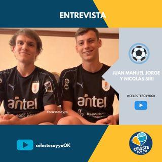 Sudamericano Sub 15 - Entrevista con Juan Manuel Agüero y Nicolás Siri
