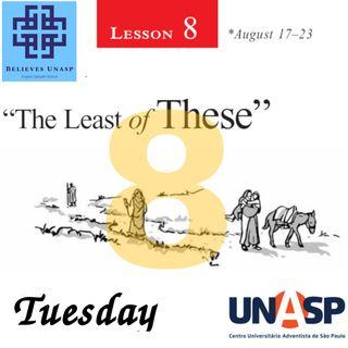 Sabbath School Aug-20 Tuesday