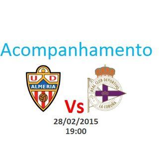 Espanha - Almería vs Deportivo