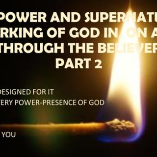 BECOMING THE POWERHOUSE GOD MEANT YOU TO BE PART 2 IN ON THROUGH YOU