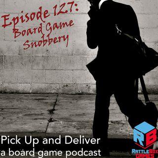 Board Game Snobbery