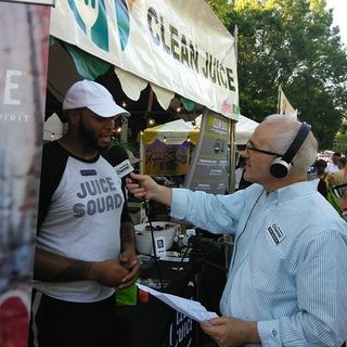 Clean Juice at 29th Annual Taste of Alpharetta on Georgia Podcast