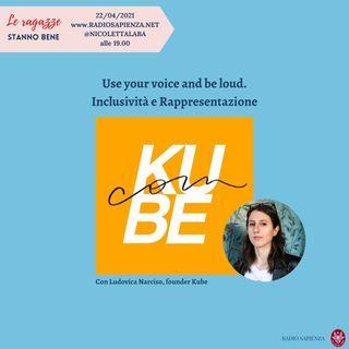 #3.2 Use your voice and be loud: media, inclusività e rappresentazione con Ludovica Narciso