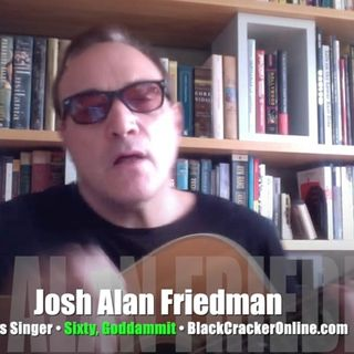 Texas bluesman Josh Alan Friedman plays for us! INTERVIEW