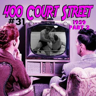 400 Court Street - Continue our look at Evansville's Wrestling scene in 1959. Rip Hawk and Studio Wrestling have turned things around