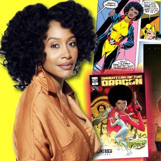 #280: Simone Missick on her superhero role as Misty Knight on the Marvel series Luke Cage!