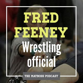 Wrestling official Fred Feeney talking high school and college wrestling rules