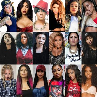Female Rappers: Ladies Getting A BAG-Episode 5 - Truth and Jest with Cool Chick #1