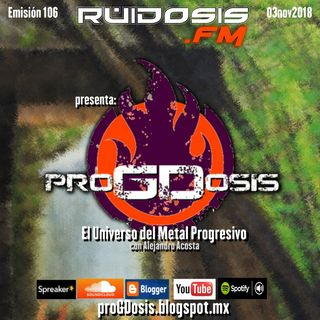 proGDosis 106 - 03nov2018 - Cast
