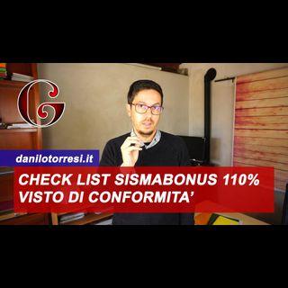 Visto di Conformità Sismabonus col Superbonus 110%