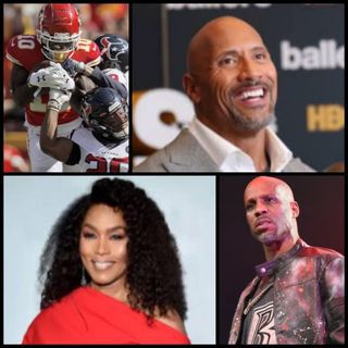 Episode 54 - Dwayne Johnson says bye to Ballers, Angela Basset talks sexual abuse as a child, and the return of Tyreek Hill