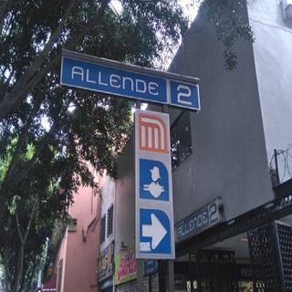 A partir de este martes cierran Metro Allende