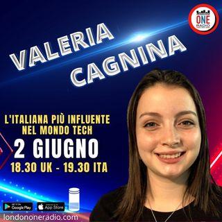 Valeria Cagnina, l'italiana più influente nel mondo tech