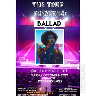 THE TOUR:SPECIAL GUEST BALLAD