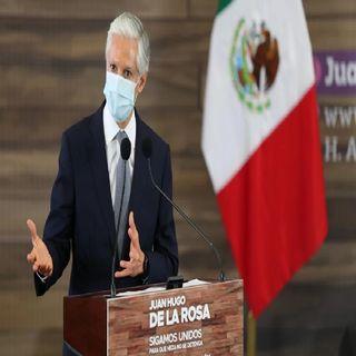El Gobernador del Estado de México Alfredo Del Mazo informó que la entidad continúa en semáforo rojo