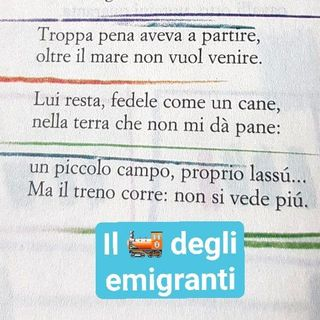 Il treno dell'emigrante - Gianni Rodari