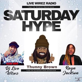 Thunny Brown and Stuck B FOH on Hype!