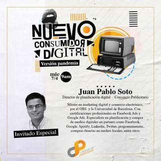 Juan Pablo Soto - Director de Planificación Digital (Consorcio Publicitario)