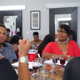 S-2 Ep.3 Convo Sessions Vision Board Party at UpScale Hair Salon - Part - 1