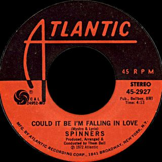 Drive-In Memories: Could It Be I'm Falling In Love - 2:23:19, 2.38 PM