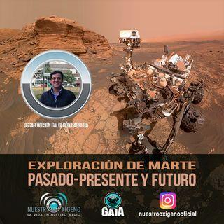 NUESTRO OXÍGENO Exploracion de marte pasado presente y futuro - Lic. Oscar Calderón Barrera