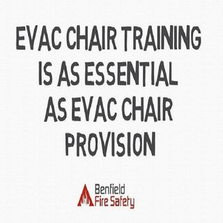 Evac Chair Training Is As Essential As Evac Chair Provision