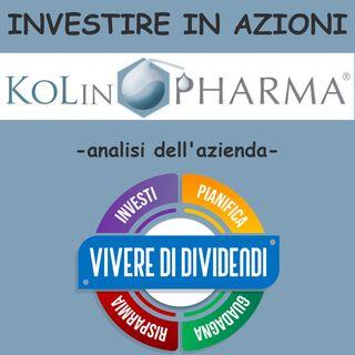 INVESTIRE IN AZIONI KOLINPHARMA - analisi dell'azienda