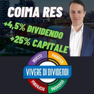 COIMA RES - ANALISI FONDAMENTALE ED INVESTIMENTO con  @Value Investing with Sven Carlin, Ph.D. 