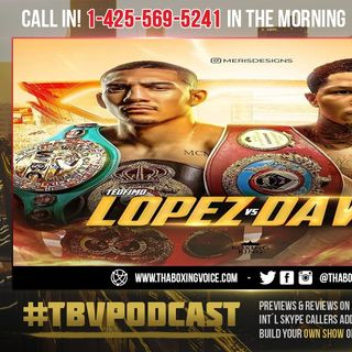 ☎️Mayweather Says Tank Davis Must Be A-Side👀1 More Fight, Then Hopefully Teofimo Fight Can Be Made🔥