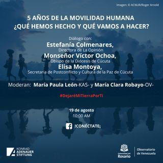 5 años de Movilidad Humana proveniente de Venezuela