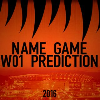 Name Game Week 1 Predictions