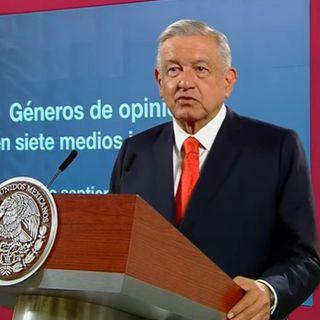 No es violatoria la consulta para enjuiciar ex presidentes: López Obrador