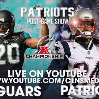 [POSTGAME] New England Patriots v. Jacksonville Jaguars | AFC Championship | Powered by CLNS Media