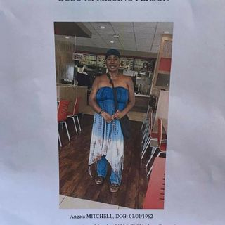 S.O.S Missing Person's Alert: Angela Mitchell 🙏