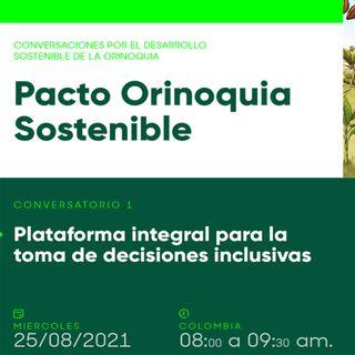 Plataforma integral para la toma de decisiones inclusivas - Sesión 1 Conversatorios #PactoOrinoquiaSostenible (FB LIVE)
