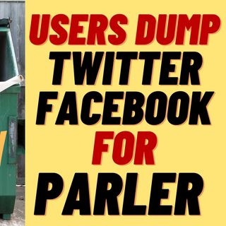 PARLER GAINS 2 MILLION NEW USERS - PEOPLE SICK OF CENSORSHIP