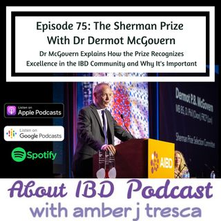 The Sherman Prize With Dr Dermot McGovern