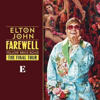 """Elton John ha annunciato le date del tour di fine carriera. Andiamo poi al 1973 per parlarvi di """"Goodbye Yellow Brick Road""""."""