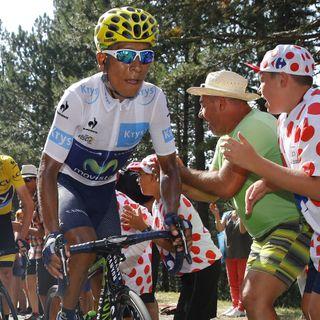 Quintana, tras la 16ª etapa del Tour
