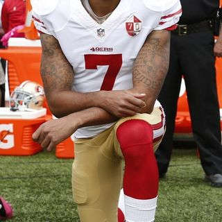 Why are you kneeling in 2020 but did not In 2016?