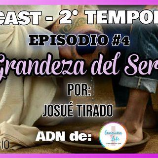 """EPISODIO 4  """"EL SERVICIO"""" - POR: JOSUÉ TIRADO"""