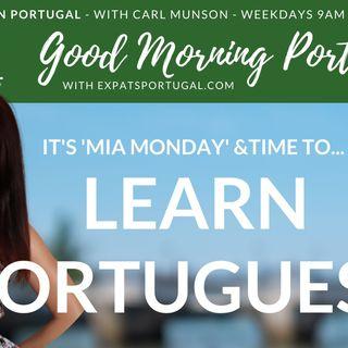 Learn Portuguese on 'Mia Monday' | Good Morning Portugal!