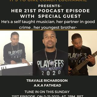 Episode 21 - My 1st Live Guest on The LockMarie Talk Show