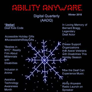 On the Cover of AADQ Winter 2018 Issue