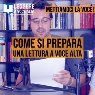 92 - Come si prepara una lettura a voce alta