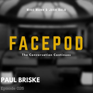 Episode 026 - Paul Briske rotates furniture into anxious formations.