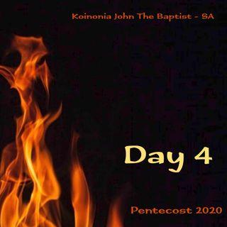 PENTECOST NOVENA - DAY 4