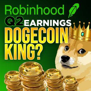 271. Robinhood Q2 Earnings | 62% of Crypto Revenue is Dogecoin 📈